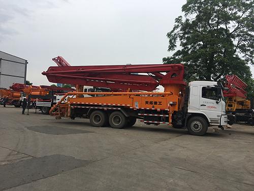 38米泵车