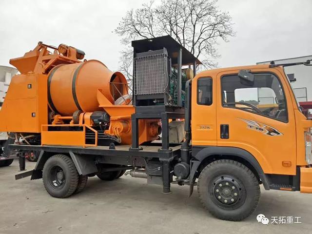 车载搅拌泵